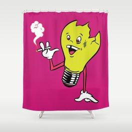 Bulby Shower Curtain