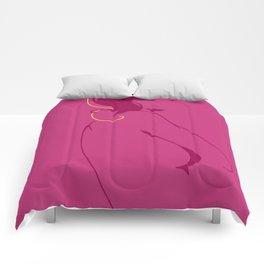 Secretly blonde Comforters
