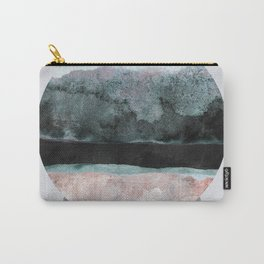 Geometric Textures 12 Carry-All Pouch