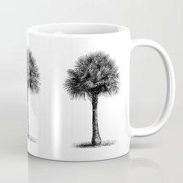 palm tree botanical no1 Coffee Mug