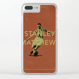 Stoke City - Matthews Clear iPhone Case