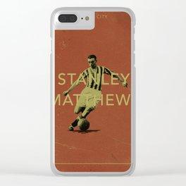 Stoke City - Matthews Clear iPhone Case