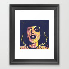 Baseball Furies Framed Art Print