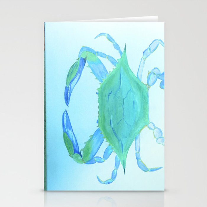 Chesapeake Blue Crab Stationery Cards