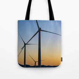 A Sunset so Windy Tote Bag