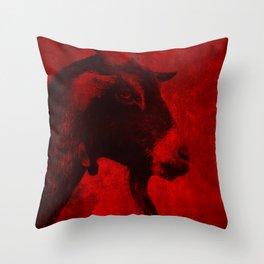 REDGOAT Throw Pillow