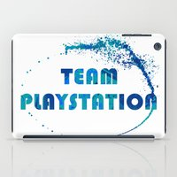 playstation iPad Cases featuring Team Playstation by Bradley Bailey