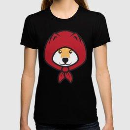 Red Riding Shibe T-shirt