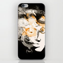 Face of Time iPhone Skin