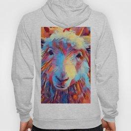 Sheep Watercolor Hoody