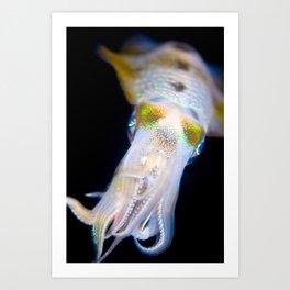 Squid #1 Art Print