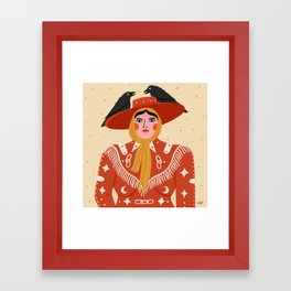 Rodeo Queen Framed Art Print
