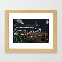 Hungry As The Wharf Framed Art Print