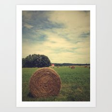 Summer Field of Dreams Art Print