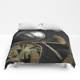 Silver Fruit 3 Comforters