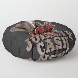 Johnny Cash Floor Pillow