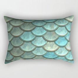 Mermaid Scales Rectangular Pillow