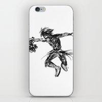 kingdom hearts iPhone & iPod Skins featuring Vanitas KINGDOM HEARTS by DarkGrey Heroine
