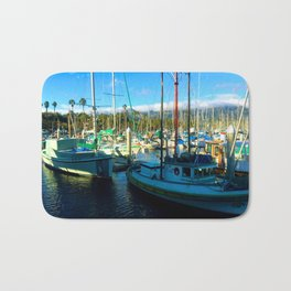 Santa Barbara Marina Bath Mat