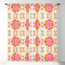 Sixties Tile Blackout Curtain