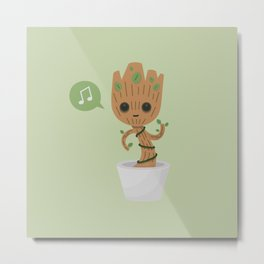 Potted plant Metal Print
