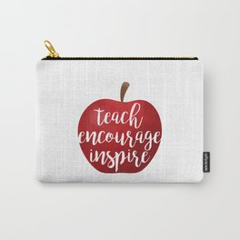Teach Encourage Inspire Carry-All Pouch