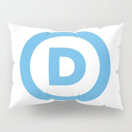 Democratic Party Logo Pillow Sham