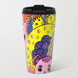 Dress code is Black & White Travel Mug