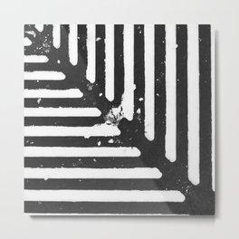 Not Very Defined Lines Metal Print