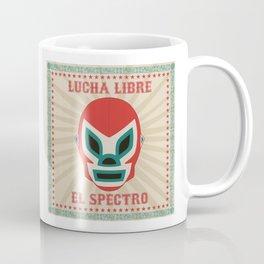 El Spectro - Lucha Libre Coffee Mug