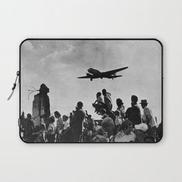 World War II Tailgate Party - Vintage Collage Laptop Sleeve