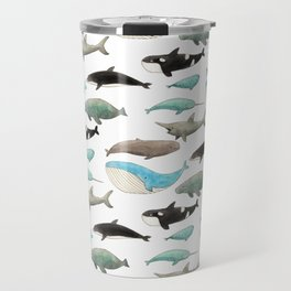 Marine animals Travel Mug