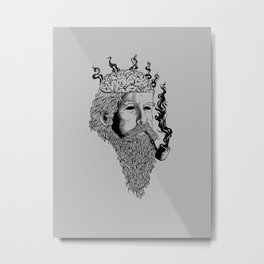 Heavy smoker Metal Print
