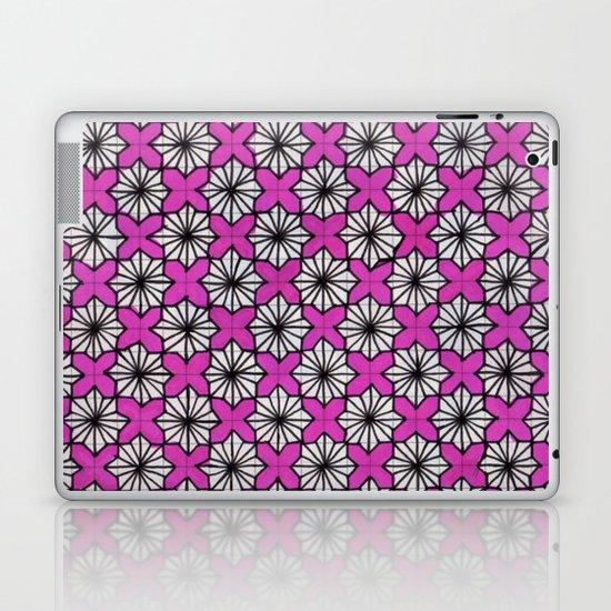 Ninja Star Pattern Laptop & iPad Skin