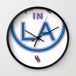 Made in LA - CLIPPERS Wall Clock