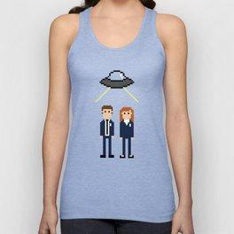Mulder & Scully Unisex Tank Top