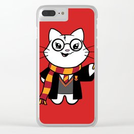 Wizardkitty Griffin House! Clear iPhone Case