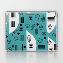 Little turtles and mushrooms Laptop & iPad Skin