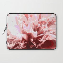 Floral shapes and colors Laptop Sleeve