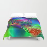 """health Duvet Covers featuring """" The cheerfulness is half of the health""""  by shiva camille"""