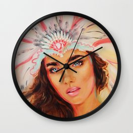 Headrest Wall Clock