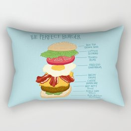 PERF BURG Rectangular Pillow