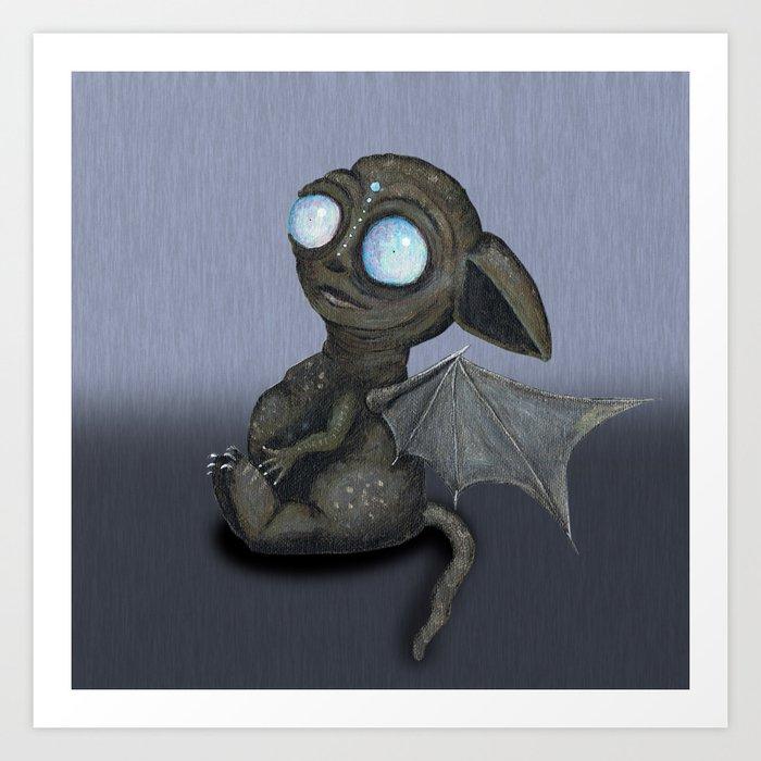Cute Dragon – Cheerful and playful dragon brian, like a kitten.