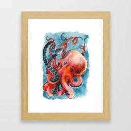 Octorista Framed Art Print