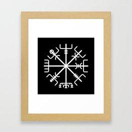 Vegvisir v2 Framed Art Print