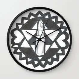 Lippie Luv Wall Clock