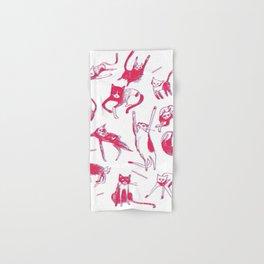 Falling Cats Hand & Bath Towel