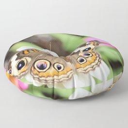 Beautiful Buckeye Butterfly Floor Pillow