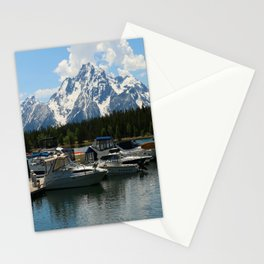 Pleasure Crafts on Jackson Lake Stationery Cards
