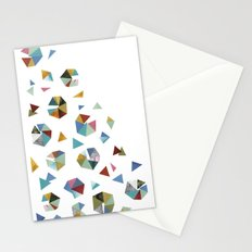 Color Hexagons Stationery Cards